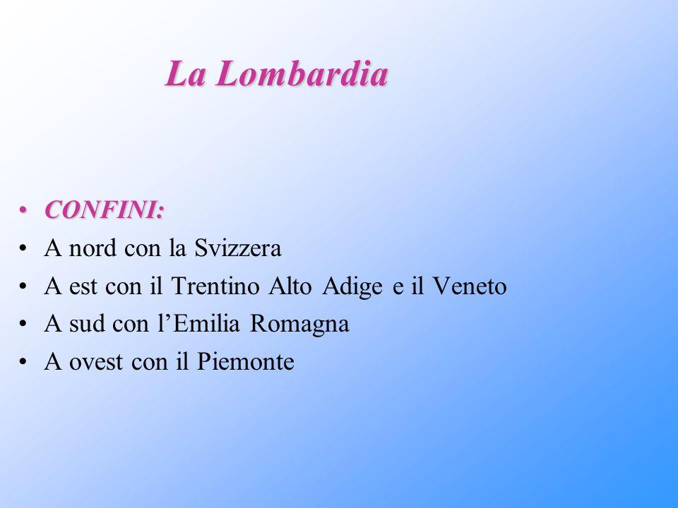 IL Territorio Le zone naturali della Lombardi sono : Zona Alpina Zona collinare e prealpina Zona pianeggiante