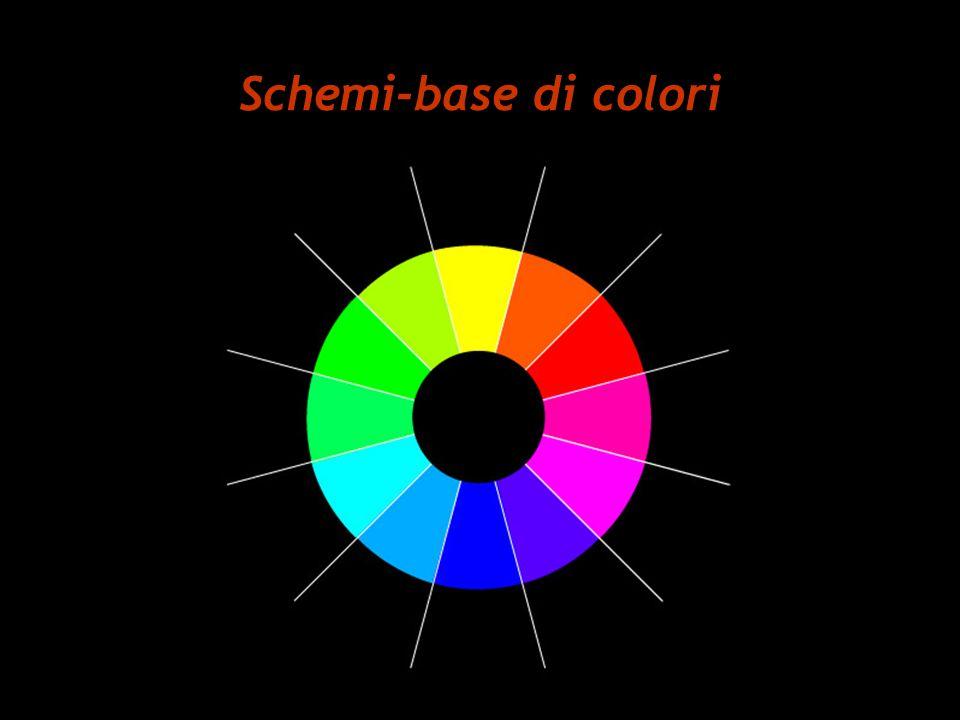 Schemi-base di colori