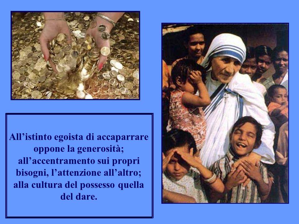 Lui stesso ha dato per primo: la salute agli ammalati, il perdono ai peccatori, la vita a tutti noi.