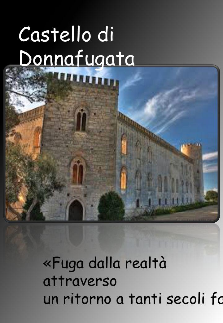 Castello di Donnafugata «Fuga dalla realtà attraverso un ritorno a tanti secoli fa»