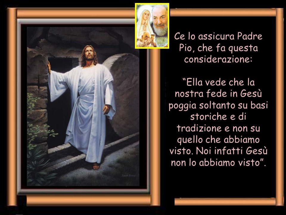 """Lei ci induce a fermarci un po', ad operare delle soste, come fece Gesù con gli apostoli stanchi: """"Venite in disparte, in un luogo solitario, e riposa"""