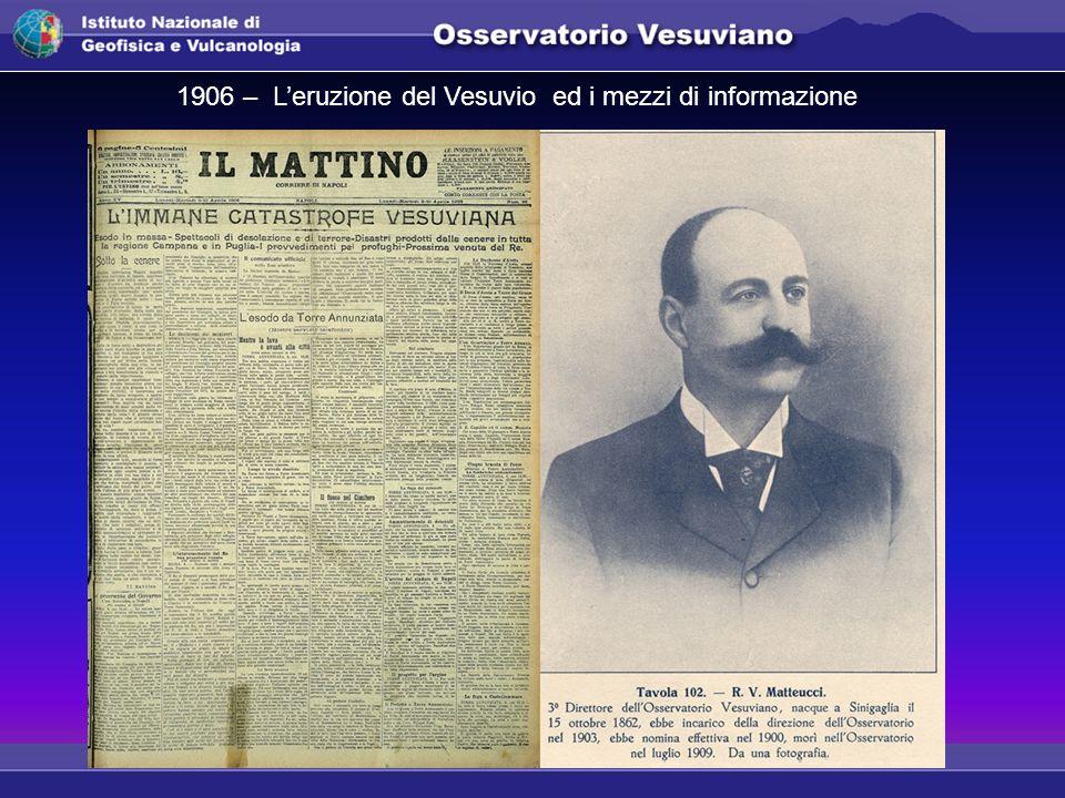 1906 – L'eruzione del Vesuvio ed i mezzi di informazione