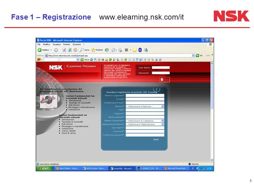 6 Fase 2 – Conferma della Registrazione Una e-mail di conferma sarà spedita all'indirizzo Cliccando sul link, si attiva automaticamente