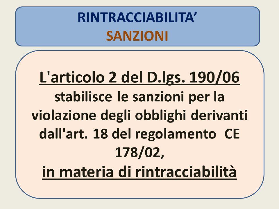 L articolo 2 del D.lgs.