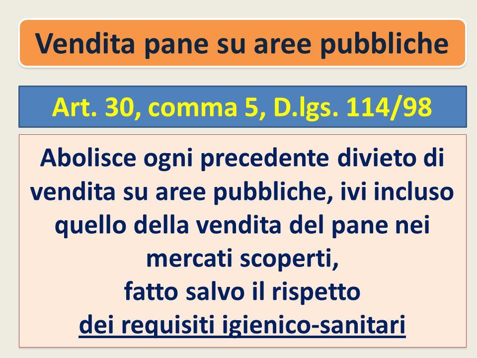 Art.30, comma 5, D.lgs.
