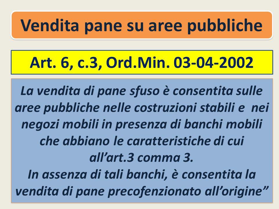 Art.6, c.3, Ord.Min.