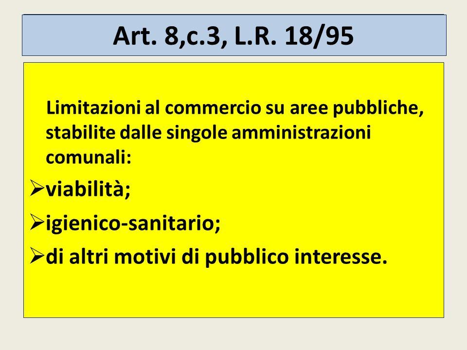 Art.8,c.3, L.R.