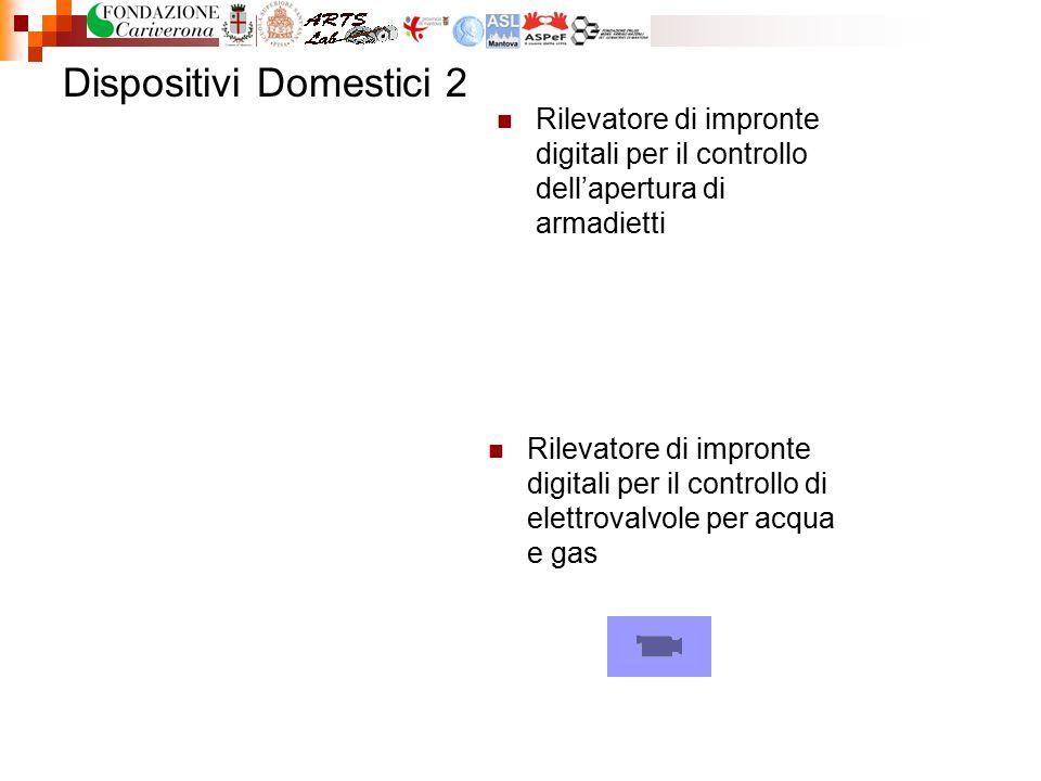 Dispositivi Domestici 2 Rilevatore di impronte digitali per il controllo dell'apertura di armadietti Rilevatore di impronte digitali per il controllo