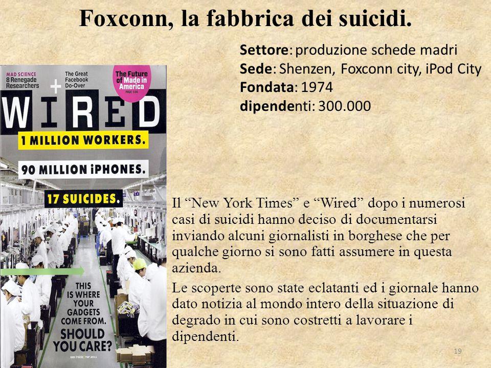 """Il """"New York Times"""" e """"Wired"""" dopo i numerosi casi di suicidi hanno deciso di documentarsi inviando alcuni giornalisti in borghese che per qualche gio"""