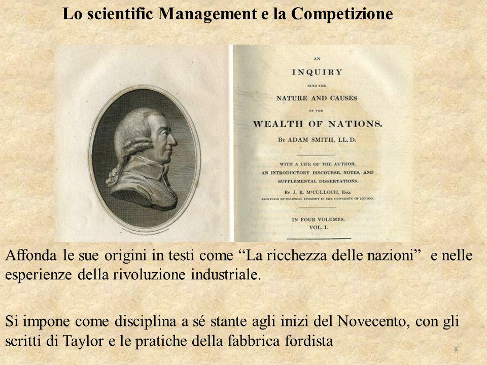 """Affonda le sue origini in testi come """"La ricchezza delle nazioni"""" e nelle esperienze della rivoluzione industriale. Si impone come disciplina a sé st"""