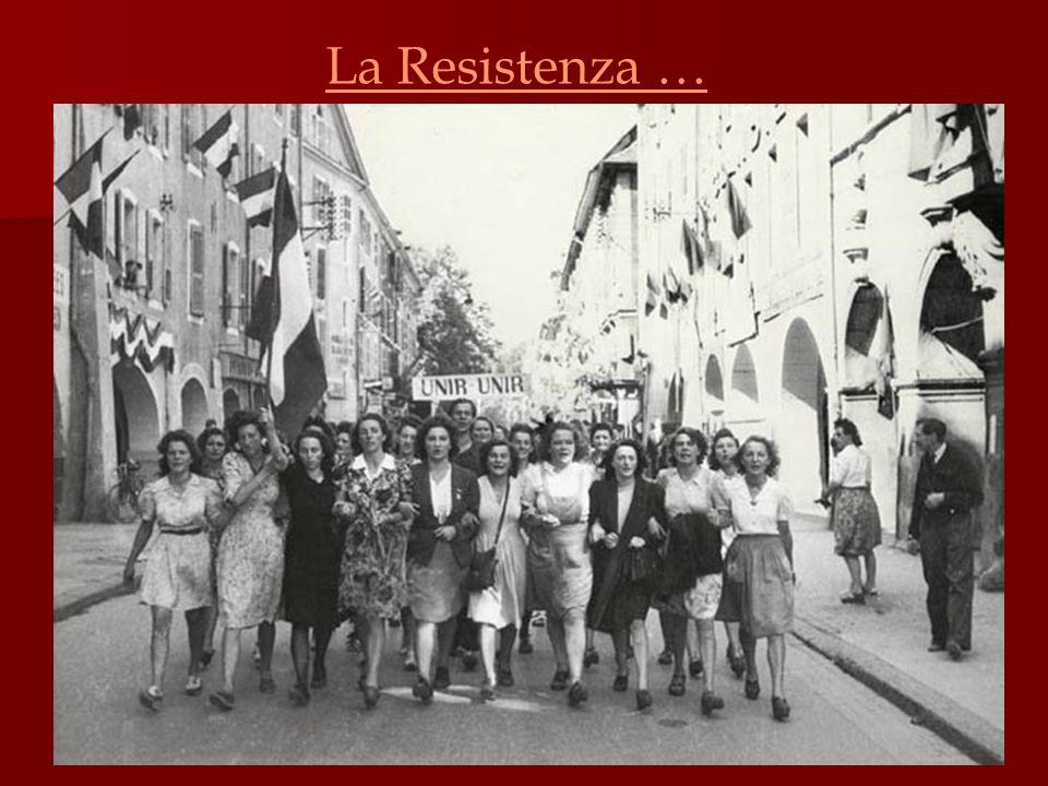 In risposta alla concezione limitante dell'ideale fascista, molte donne si batterono a fianco dei loro uomini con il desiderio di contribuire al bene del Paese e di veder riconosciuti i loro diritti nella società.