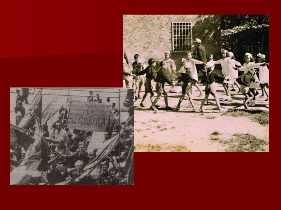 Benché gli anni di guerra avessero seminato povertà, distruzione e miseria …