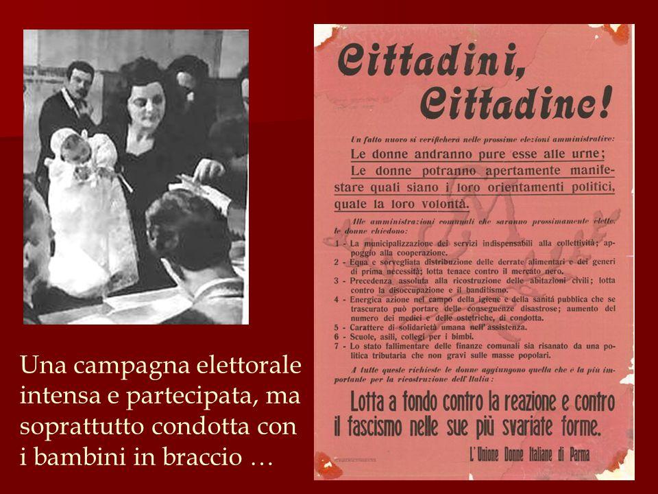 Il diritto di voto era una responsabilità di cui tutte le donne sentivano il valore, il peso, la luce .
