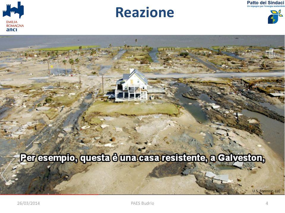 Reazione PAES Budrio426/03/2014