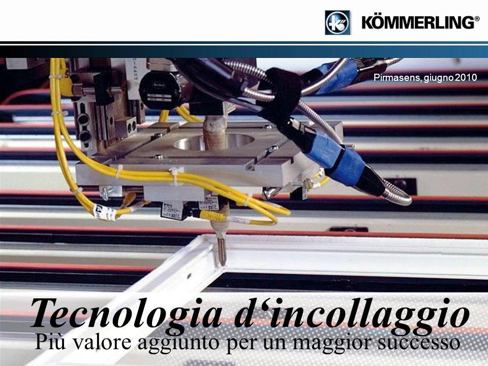 Seite 1 Pirmasens, giugno 2010 Più valore aggiunto per un maggior successo Tecnologia d'incollaggio