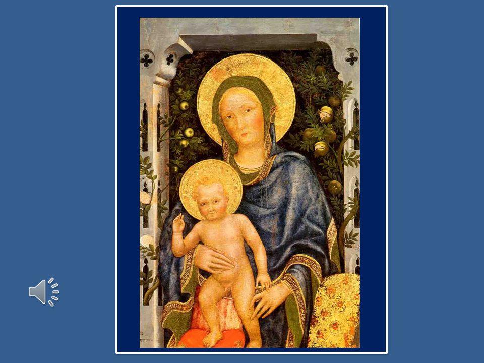 Confidiamo nel sostegno materno della Vergine Maria, Regina dei Santi che amorosamente condivide il nostro pellegrinaggio.