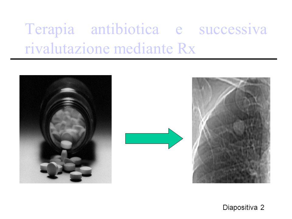 Terapia antibiotica e successiva rivalutazione mediante Rx Diapositiva 2
