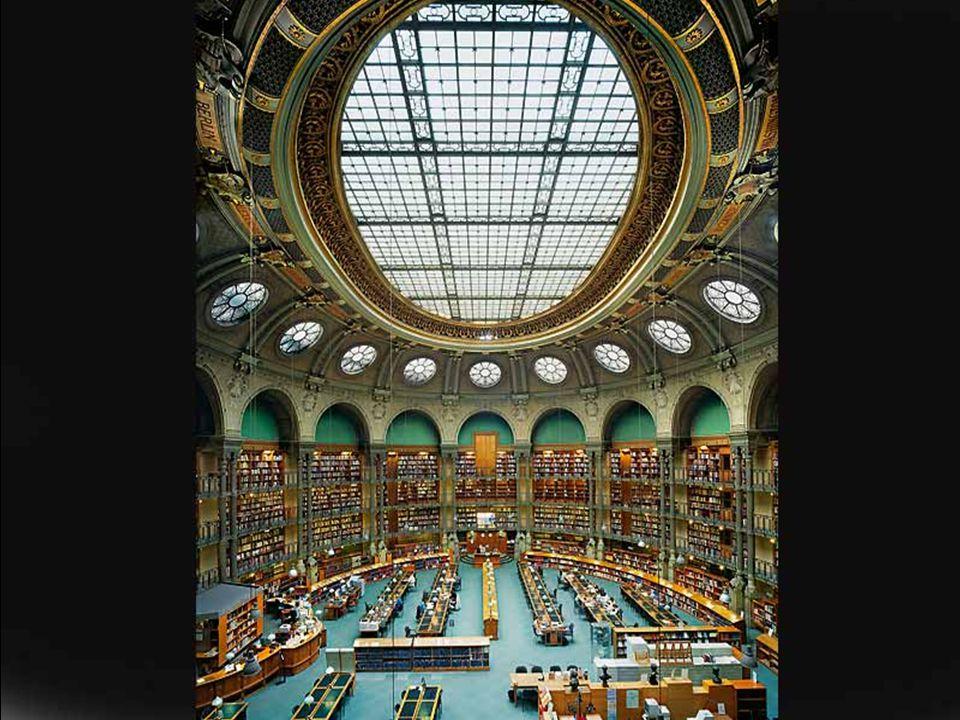 Fransa Milli Kütüphanesi, Richelieu, Paris,