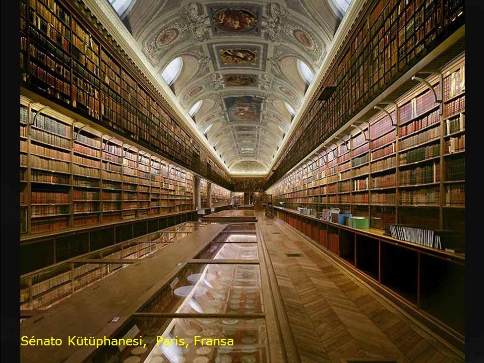 Sénato Kütüphanesi, Paris, Fransa