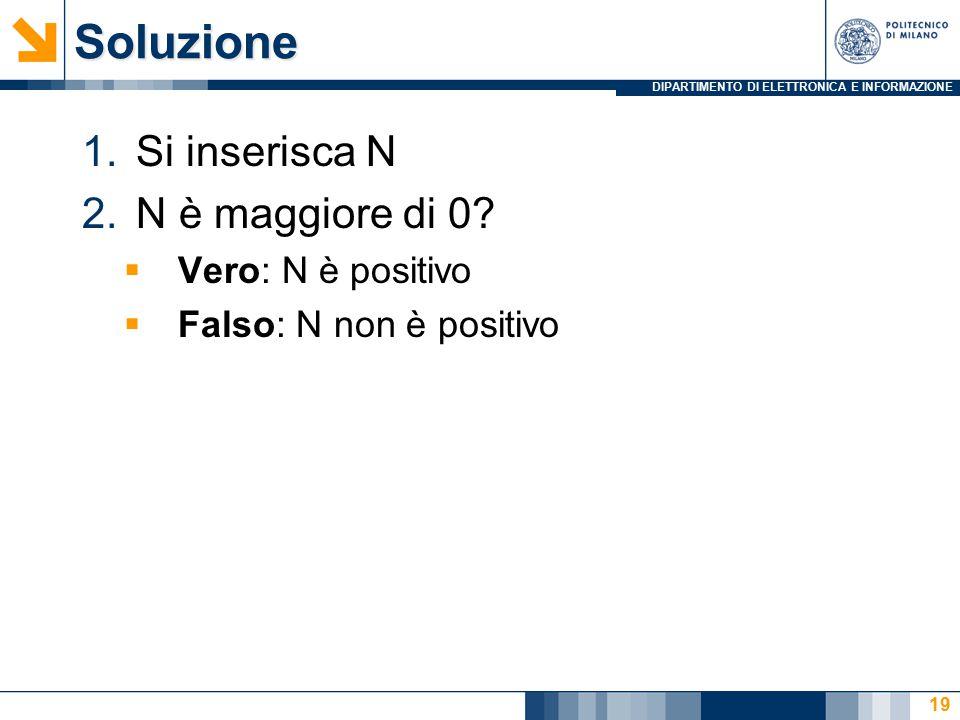 DIPARTIMENTO DI ELETTRONICA E INFORMAZIONESoluzione 1.