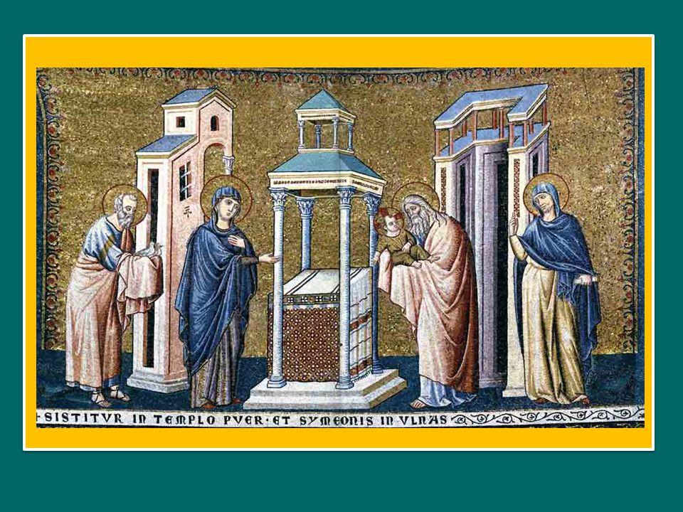Lumen ad revelationem gentium: Cristo è luce per illuminare le genti et gloriam plebis tuae Israel.