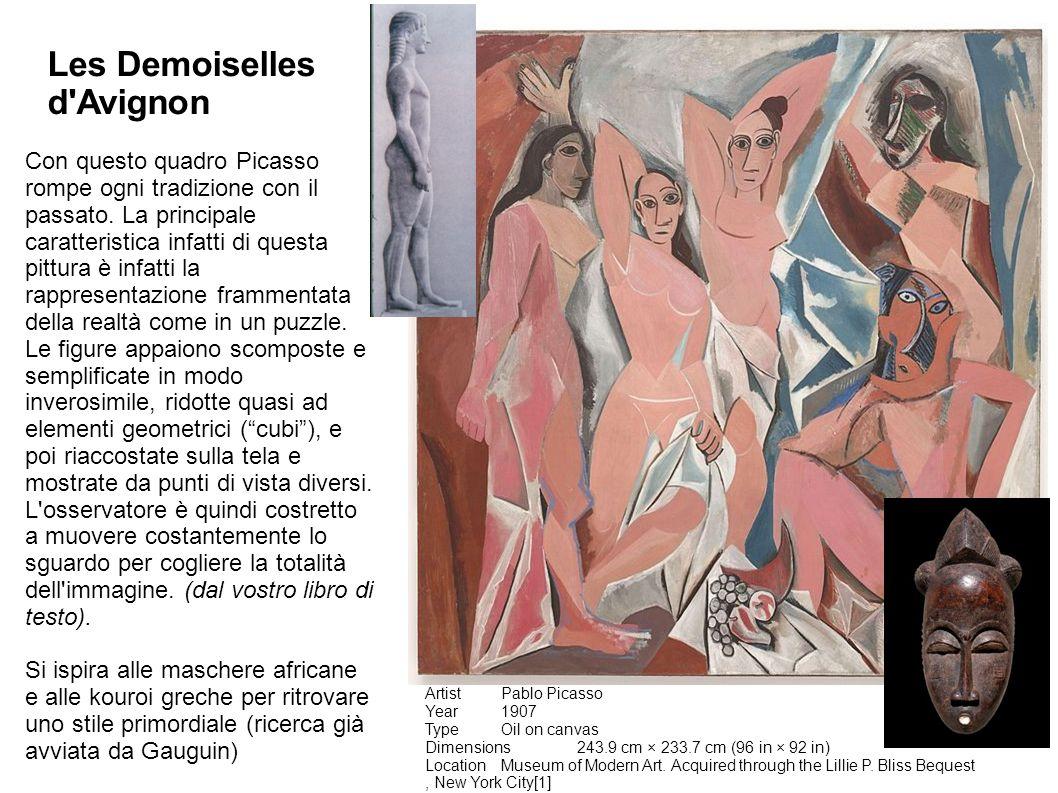 SCREENSHOT (ALT+STAMP) DI GOOGLE IMMAGINI PICASSO CUBISMO Picasso scompone e ricompone la realtà sulla tela introducendo così nella pittura la quarta dimensione , cioè il tempo.
