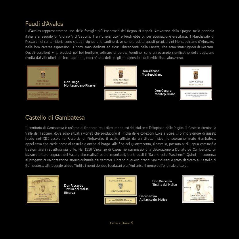 Feudi d'Avalos I d'Avalos rappresentarono una delle famiglie più importanti del Regno di Napoli. Arrivarono dalla Spagna nella penisola italiana al se