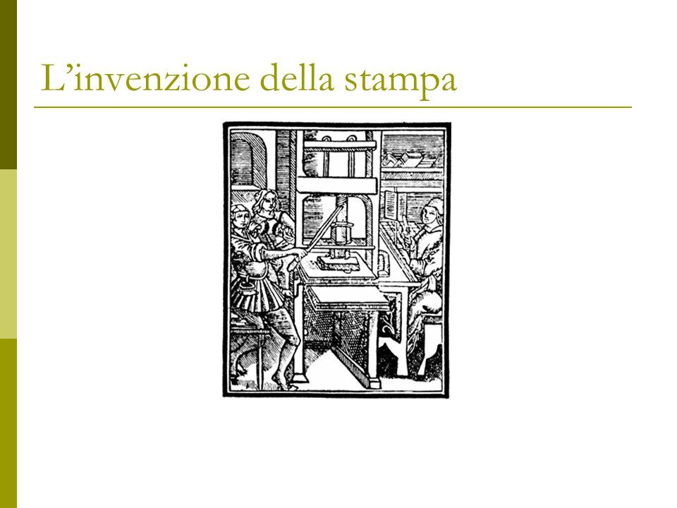 L'invenzione della stampa