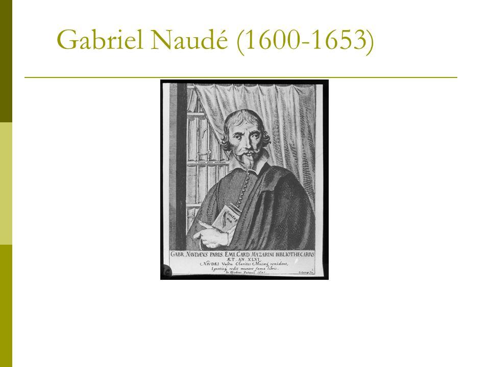 Gabriel Naudé (1600-1653)