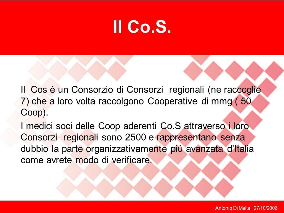 Centro Sanitario Polifunzionale CMMG Organizzazione logistica Organizzazione del lavoro Compiti dell'impiegata Gestione economica medici di famiglia M.Visconti 2003
