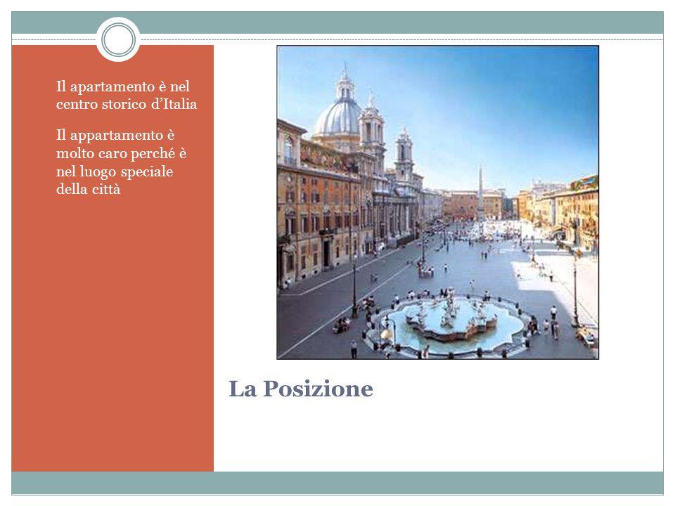La Posizione Il apartamento è nel centro storico d'Italia Il appartamento è molto caro perché è nel luogo speciale della città