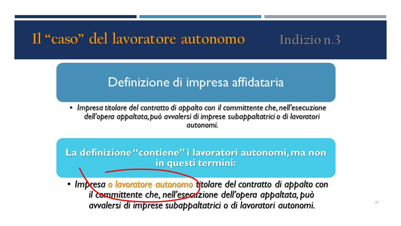 Definizione di impresa affidataria Impresa titolare del contratto di appalto con il committente che, nell'esecuzione dell'opera appaltata, può avvaler