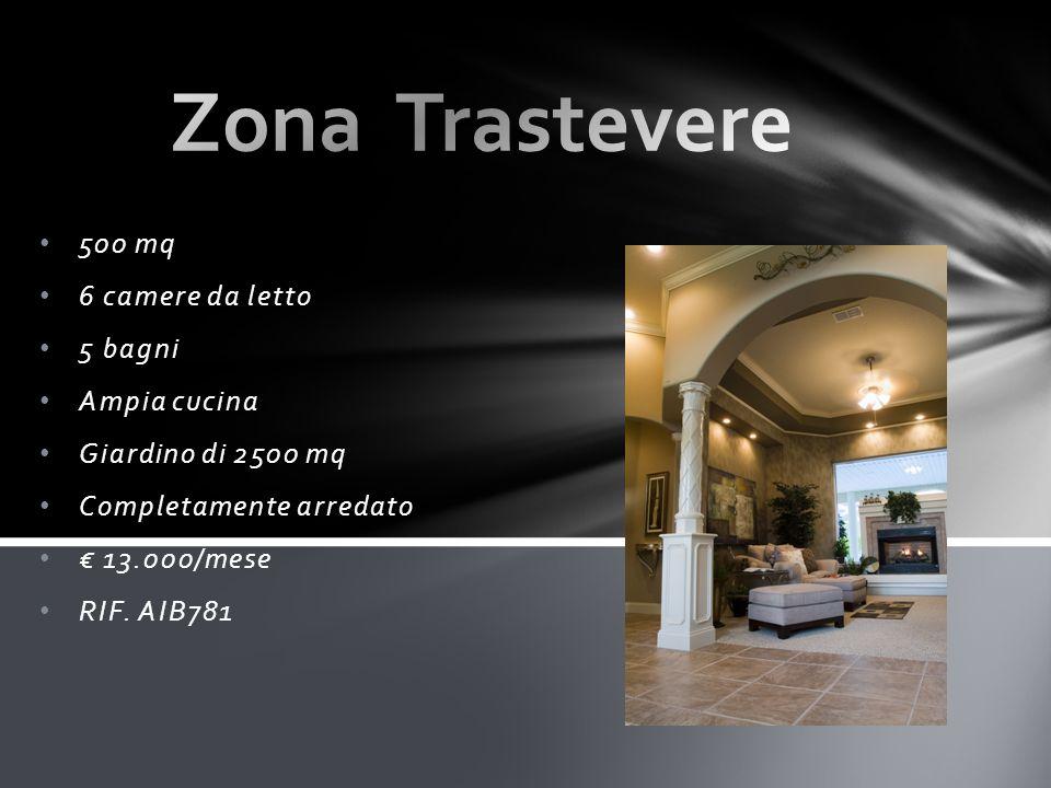 500 mq 6 camere da letto 5 bagni Ampia cucina Giardino di 2500 mq Completamente arredato € 13.000/mese RIF.