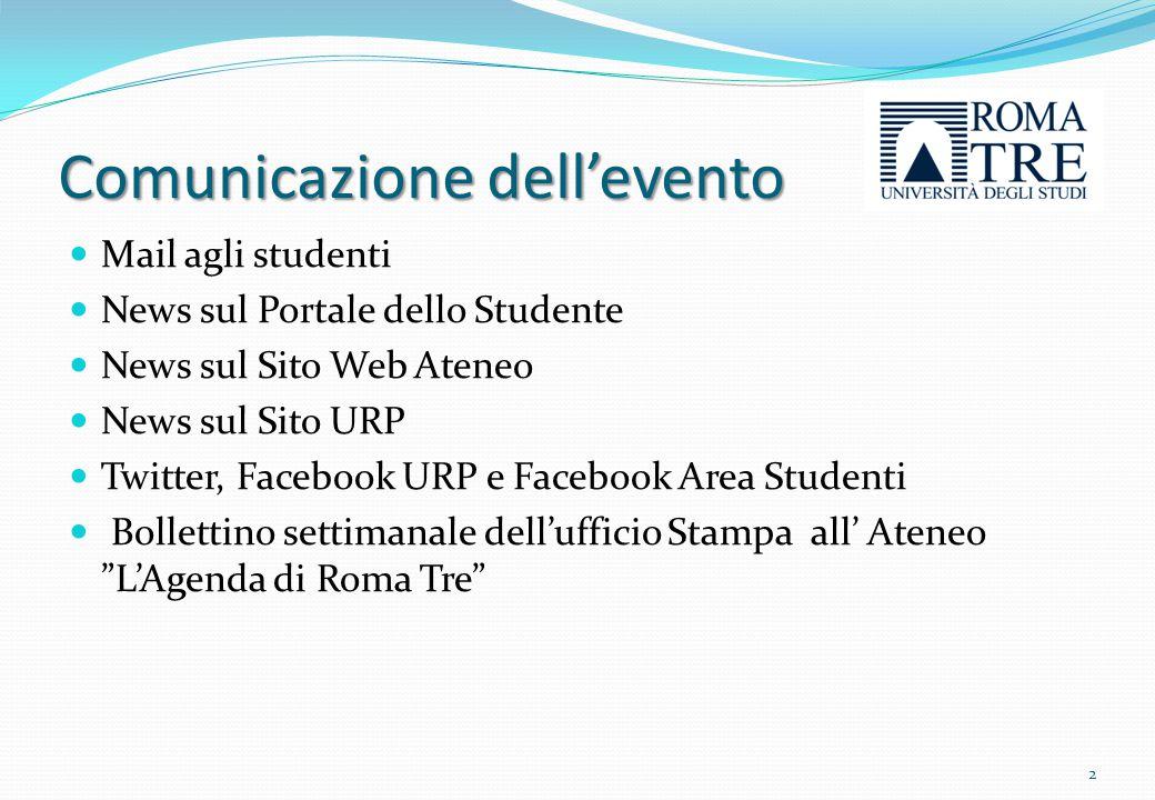 Inviti alla giornata Studenti Personale Organizzazioni Sindacali: I Rappresentanti interni delle OO.SS.