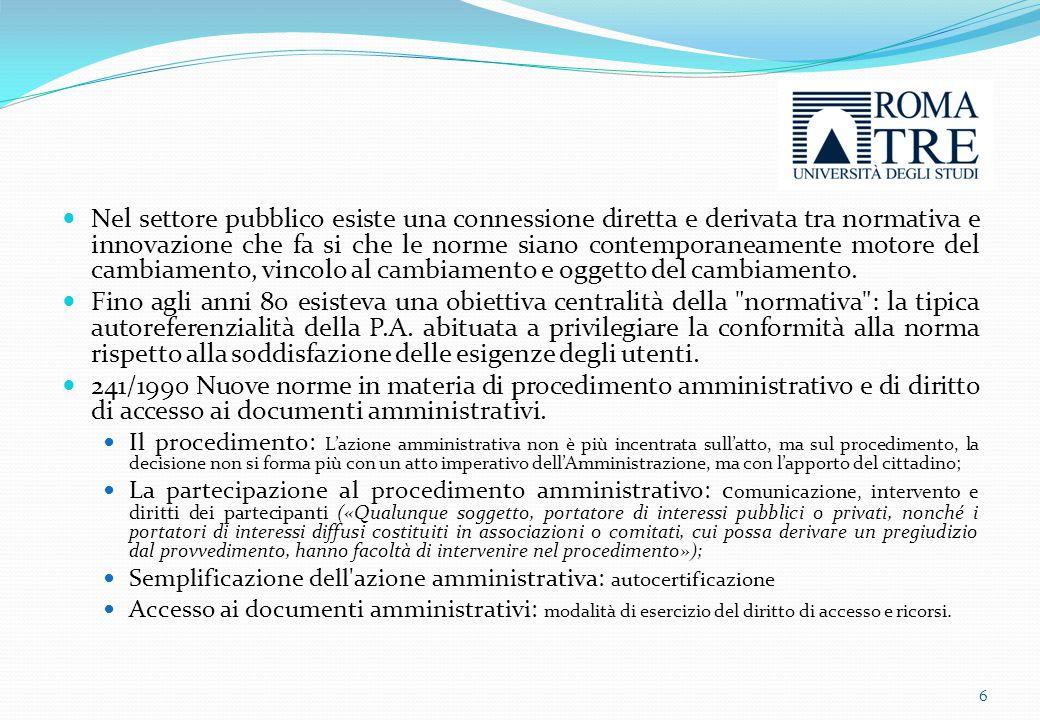 «Amministrazione Trasparente» 7