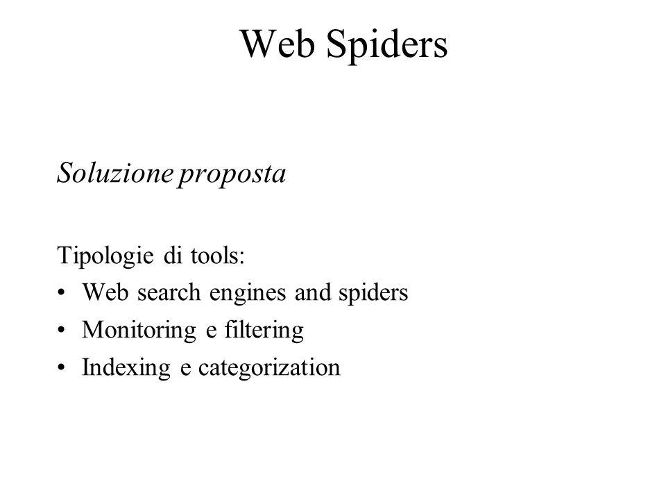 Analisi basata sulla struttura L'analisi dei link uscenti da una pagina permette di avere utili informazioni sulla sua tipologia.