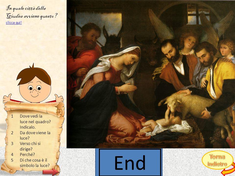 Lorenzo Lotto, Adorazione dei pastori, 1525-1533 CLICCA QUI PER SCOPRIRE DA DOVE VIENE LA LUCE.