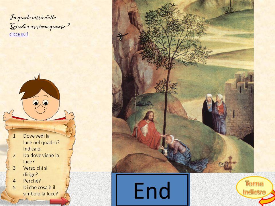 CLICCA QUI PER SCOPRIRE DA DOVE VIENE LA LUCE.Il mantello lascia scoperto il costato di Gesù.