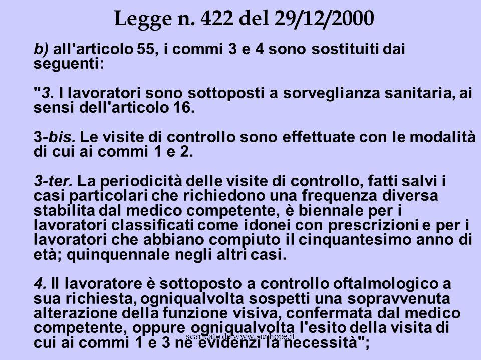 b) all'articolo 55, i commi 3 e 4 sono sostituiti dai seguenti: