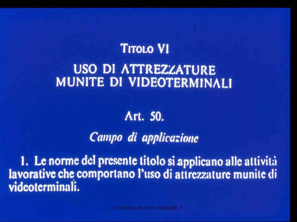D.Lgs.626/94 (integrato dal D.Lgs. 242/96) Art. 51.