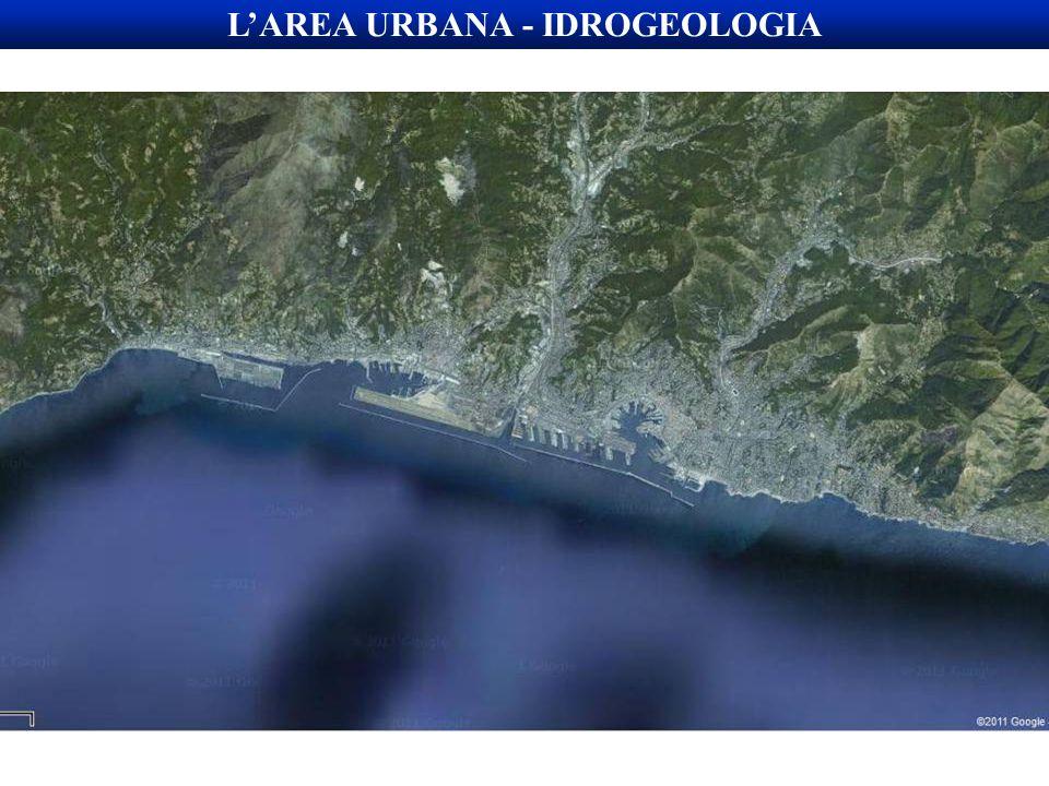 L'AREA URBANA - IDROGEOLOGIA