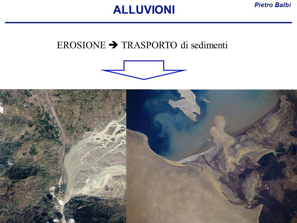 Pietro Balbi ALLUVIONI EROSIONE  TRASPORTO di sedimenti