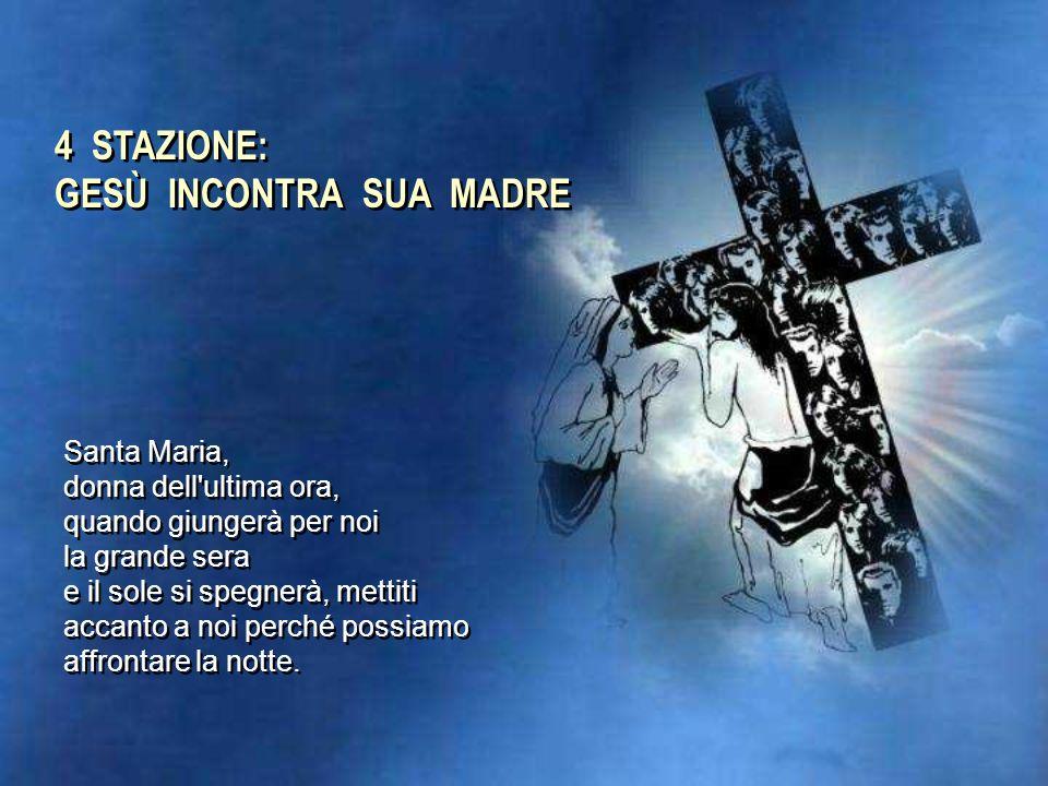 3 STAZIONE: GESÙ CADE LA PRIMA VOLTA Se è vero che la croce è l'unità di misura di ogni impegno cristiano, dobbiamo fare attenzione al pericolo di rif