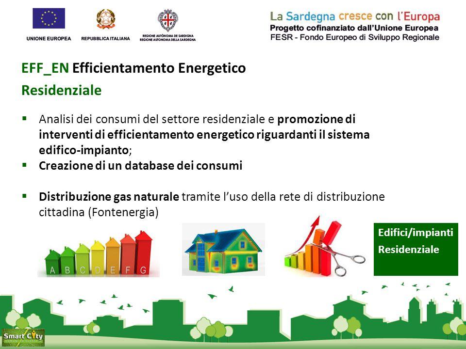 EFF_EN Efficientamento Energetico Residenziale  Analisi dei consumi del settore residenziale e promozione di interventi di efficientamento energetico
