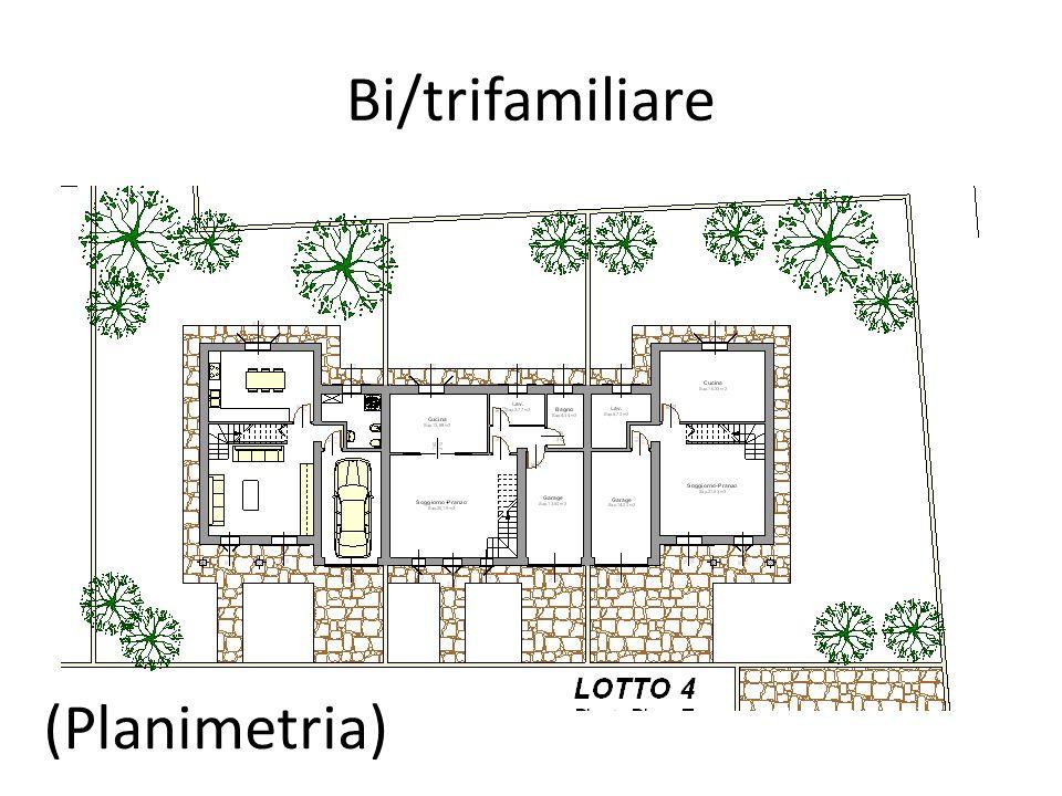 Bi/trifamiliare (Planimetria)