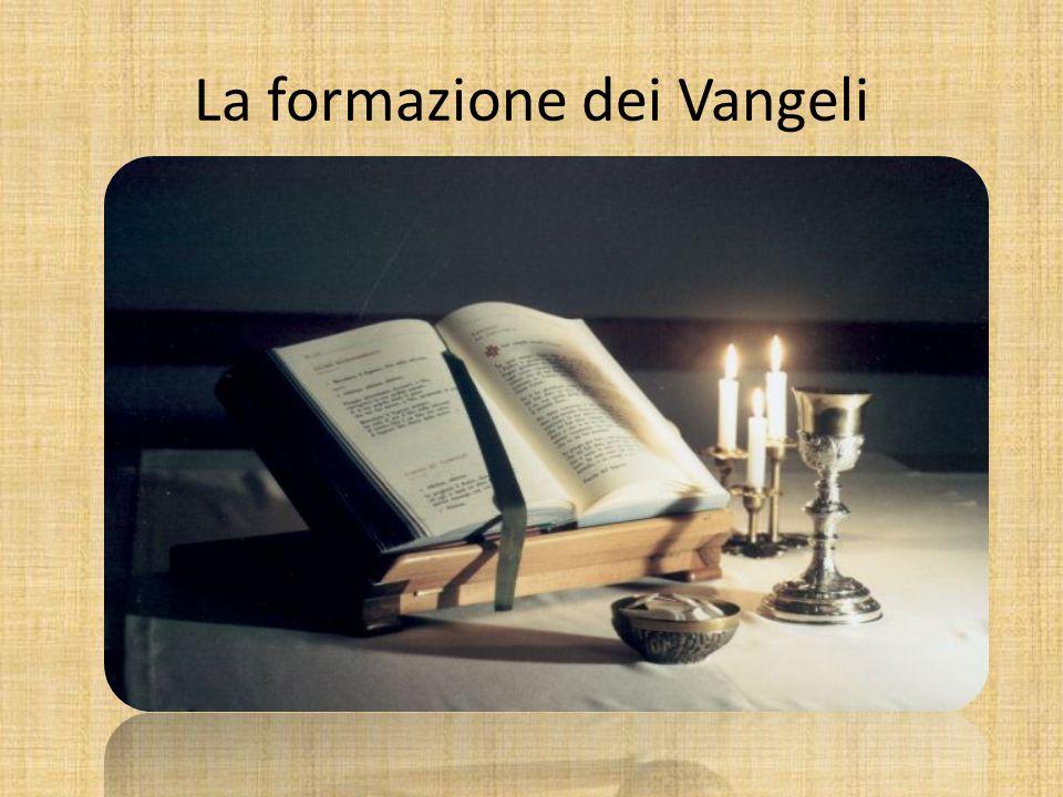 La formazione dei Vangeli