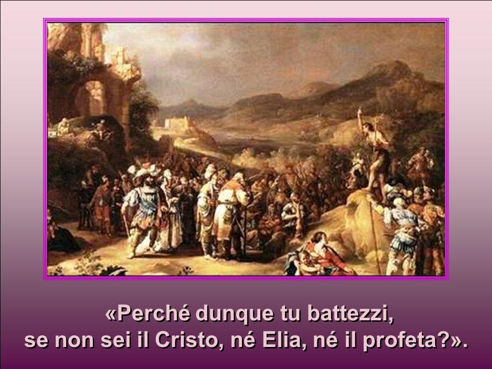 Quelli che erano stati inviati Essi lo interrogarono e gli dissero: Essi lo interrogarono e gli dissero: venivano dai farisei. venivano dai farisei.