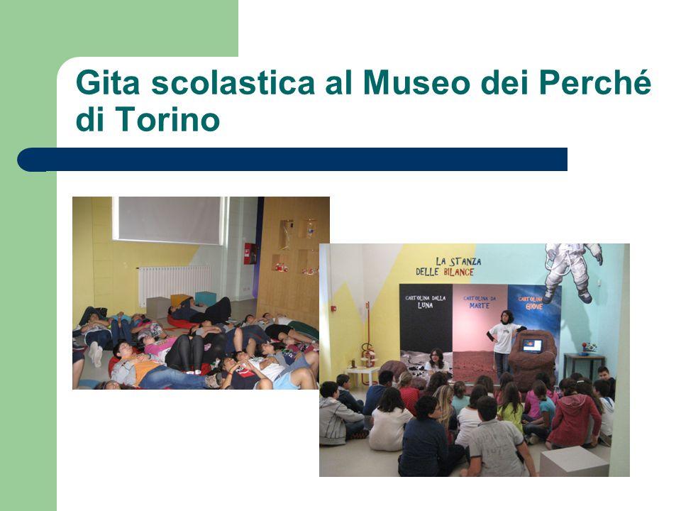 Gita scolastica al Museo dei Perché di Torino