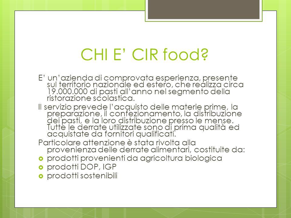 E' un'azienda di comprovata esperienza, presente sul territorio nazionale ed estero, che realizza circa 19.000.000 di pasti all'anno nel segmento dell
