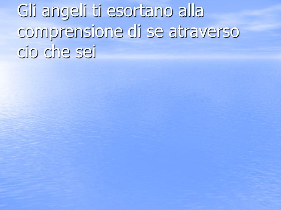 Gli angeli ti esortano alla disciplina